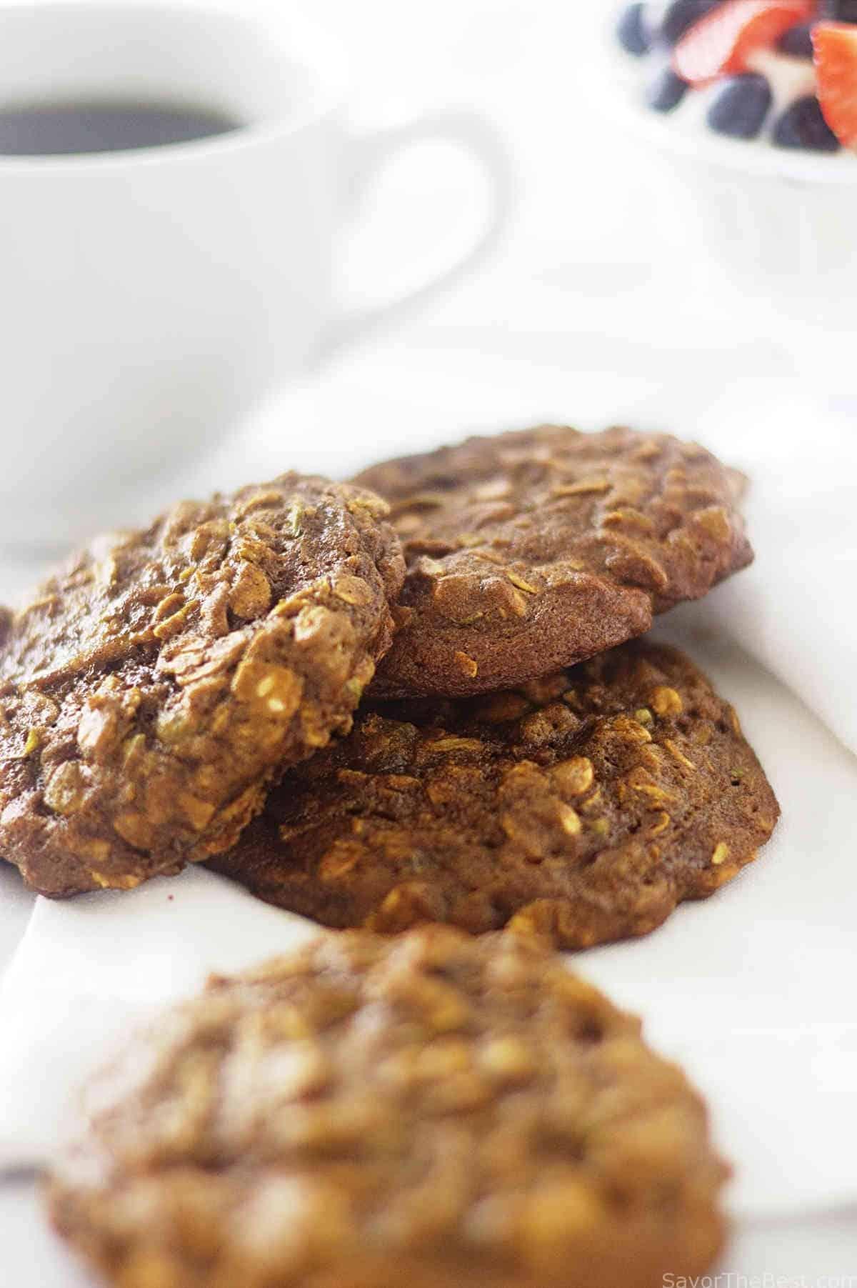 Ancient grain apple breakfast cookies