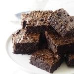 Einkorn Brownies with Cocoa Nibs
