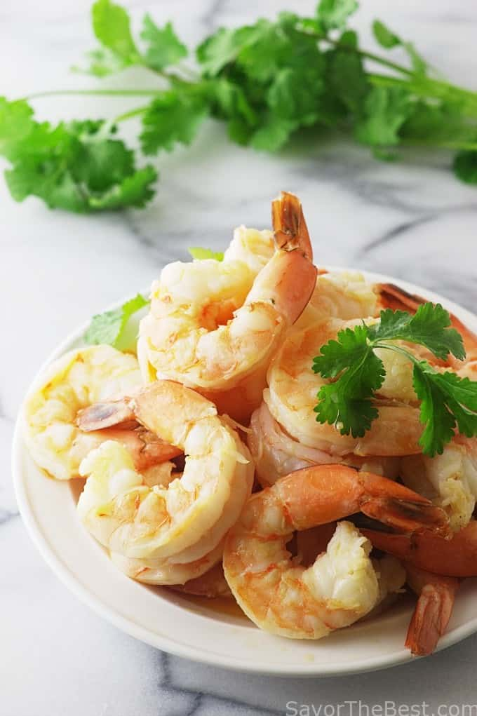 Thai Spicy Shrimp Bowl