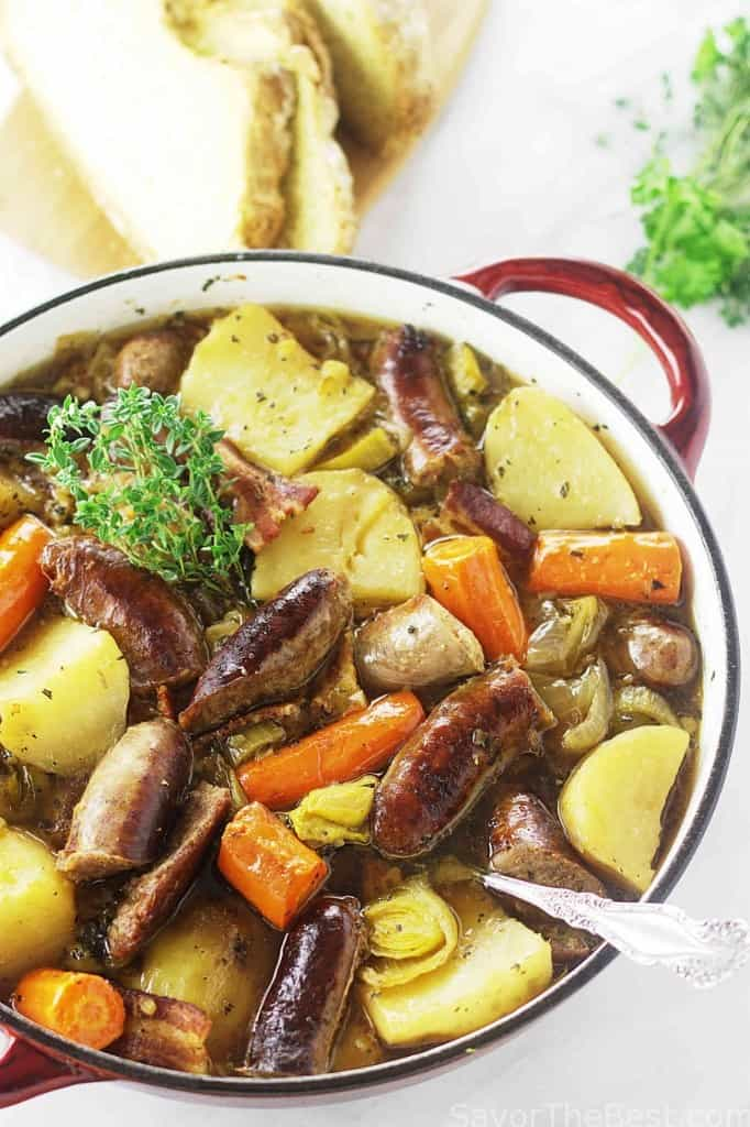 Dublin Coddle with Barley