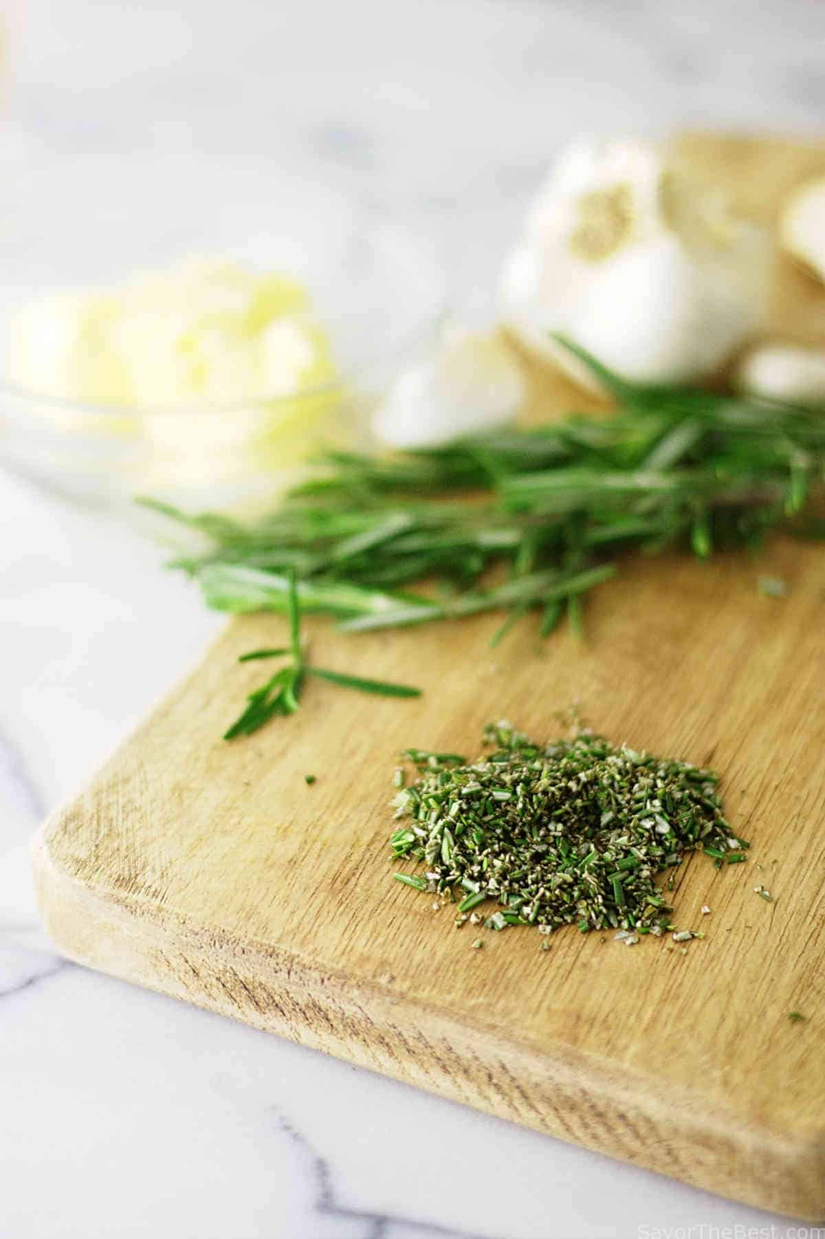 herbs for compound butter