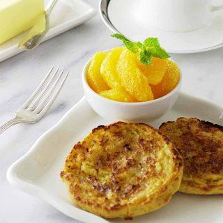 Einkorn english muffins