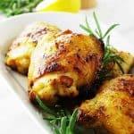 Herb and Honey Glazed Chicken Thighs