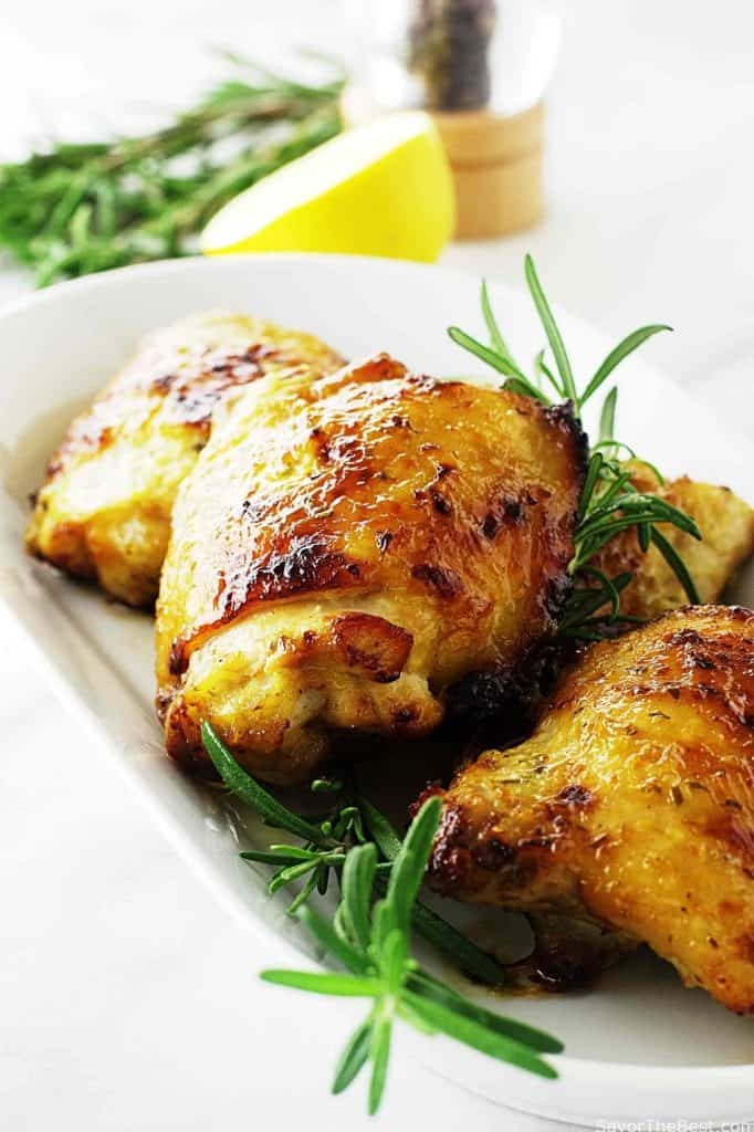 food honey glazed lemon roast chicken lemon honey glazed lemon roast ...