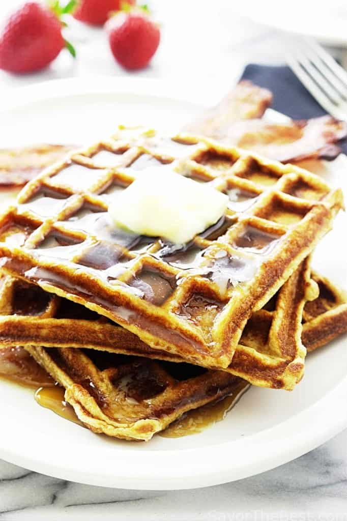 Kamut Buttermilk Waffles