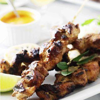Lemongrass Chicken Satay