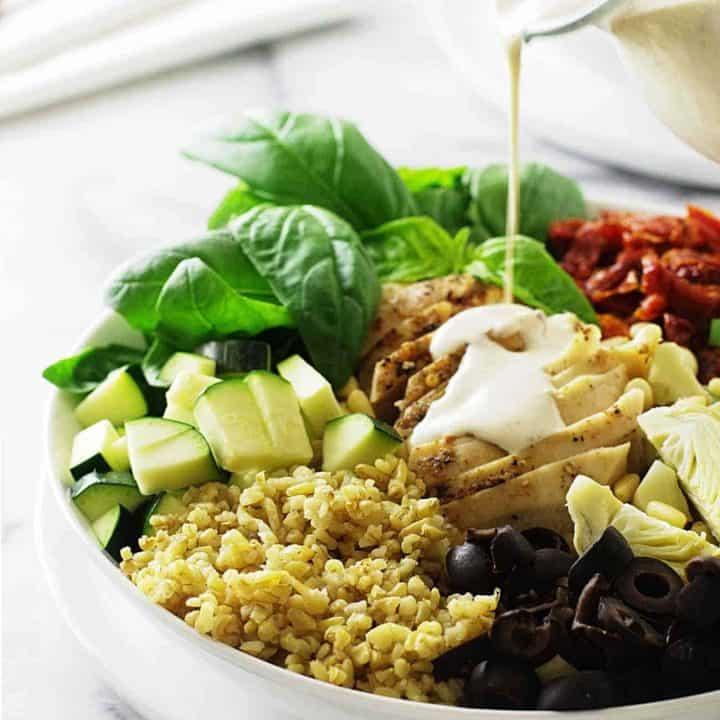 Mediterranean Freekeh Salad