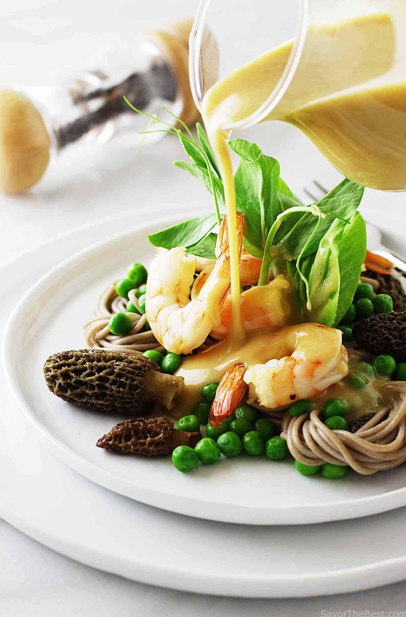 Buckwheat Noodle Salad with Shrimp