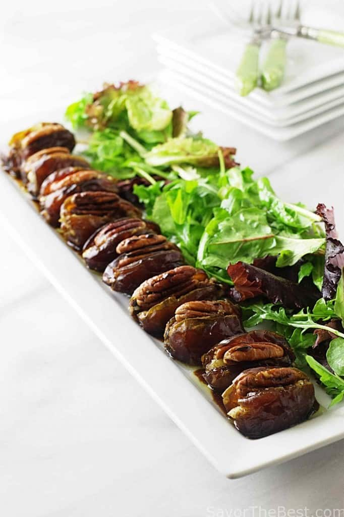 Gorgonzola-Chorizo Stuffed Dates