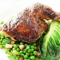 Roasted Honey-Dijon Chicken