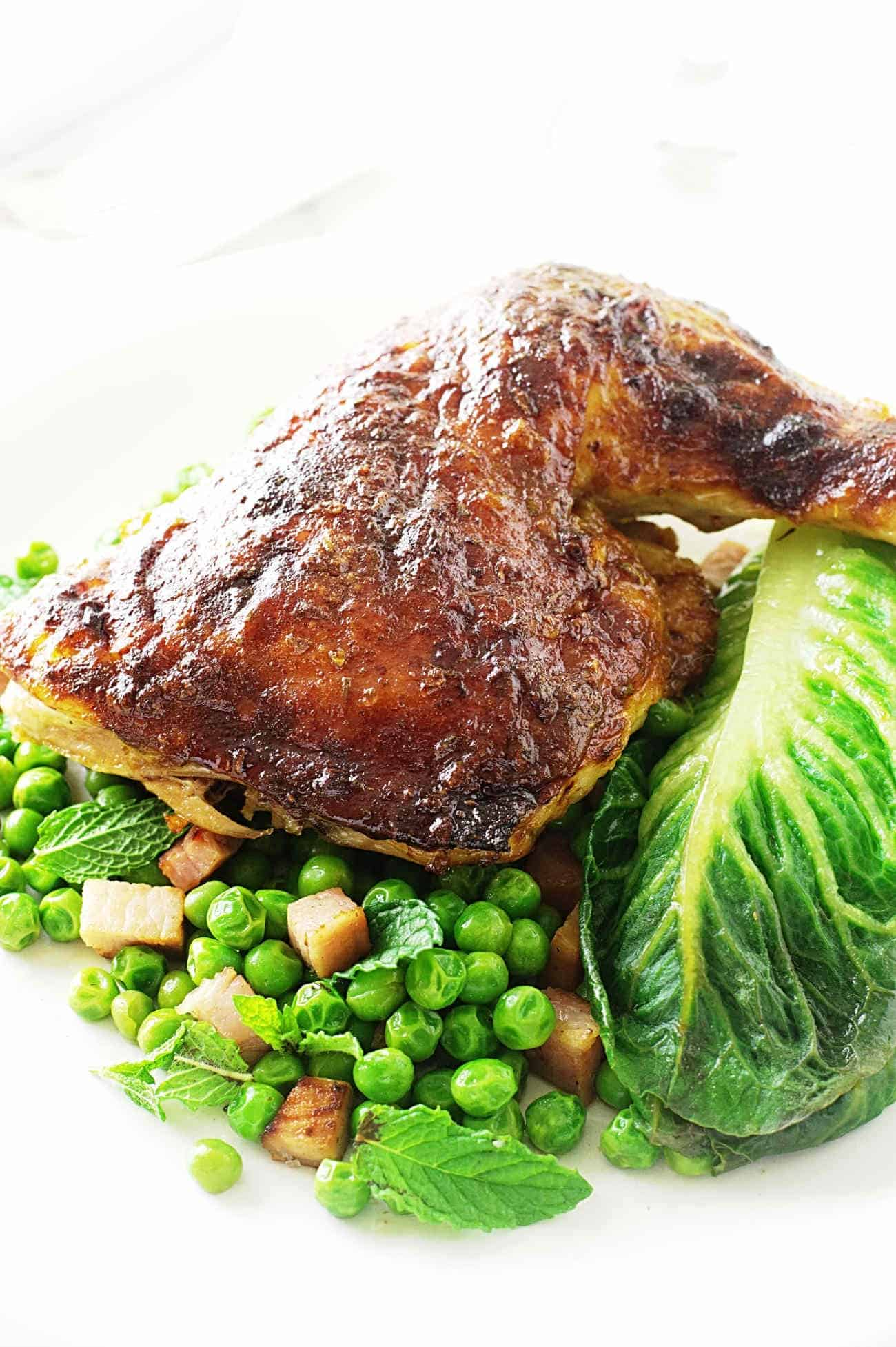 Roasted Honey-Dijon Chicken - Savor the Best