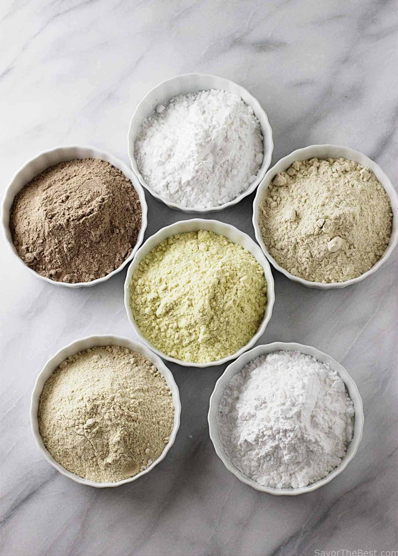 This flour blend can be used cup for cup as a replacement for all-purpose wheat flour or whole wheat flour. It is corn free, peanut free, tree nut free, rice free and dairy free. Gluten free ancient grains provide exceptional nutrition, a high fiber content and a wonderful flavor and texture to your baked goods.