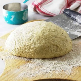 whole wheat einkorn pizza dough