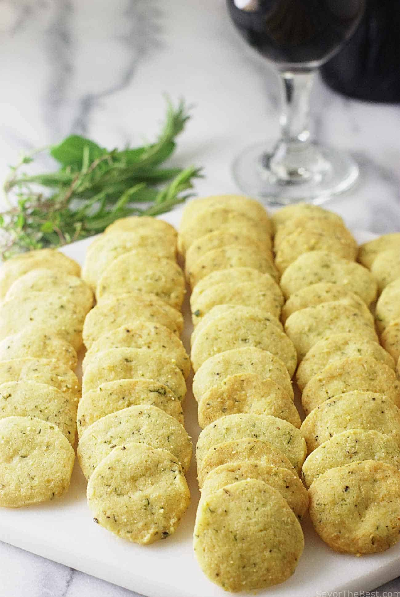 Barefoot Contessa Cocktail Party Einkorn Parmesan Herb Crackers Savor The Best
