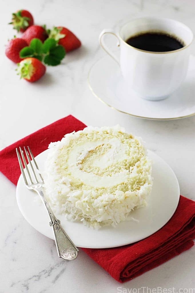 Coconut Cake Roll