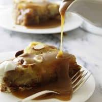 Einkorn Almond Pear Cake