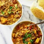 Einkorn White Bean and Sweet Potato Stew