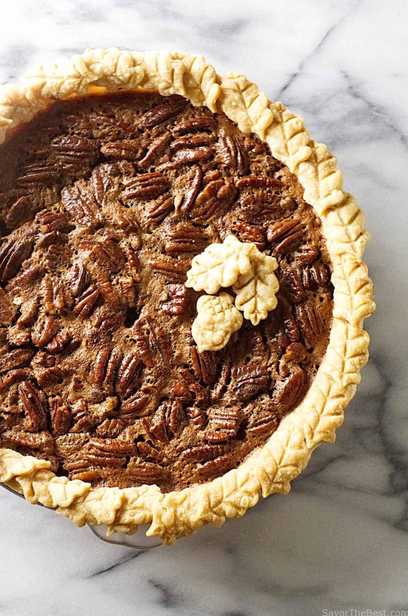 Chocolate Pecan Pie - Savor the Best