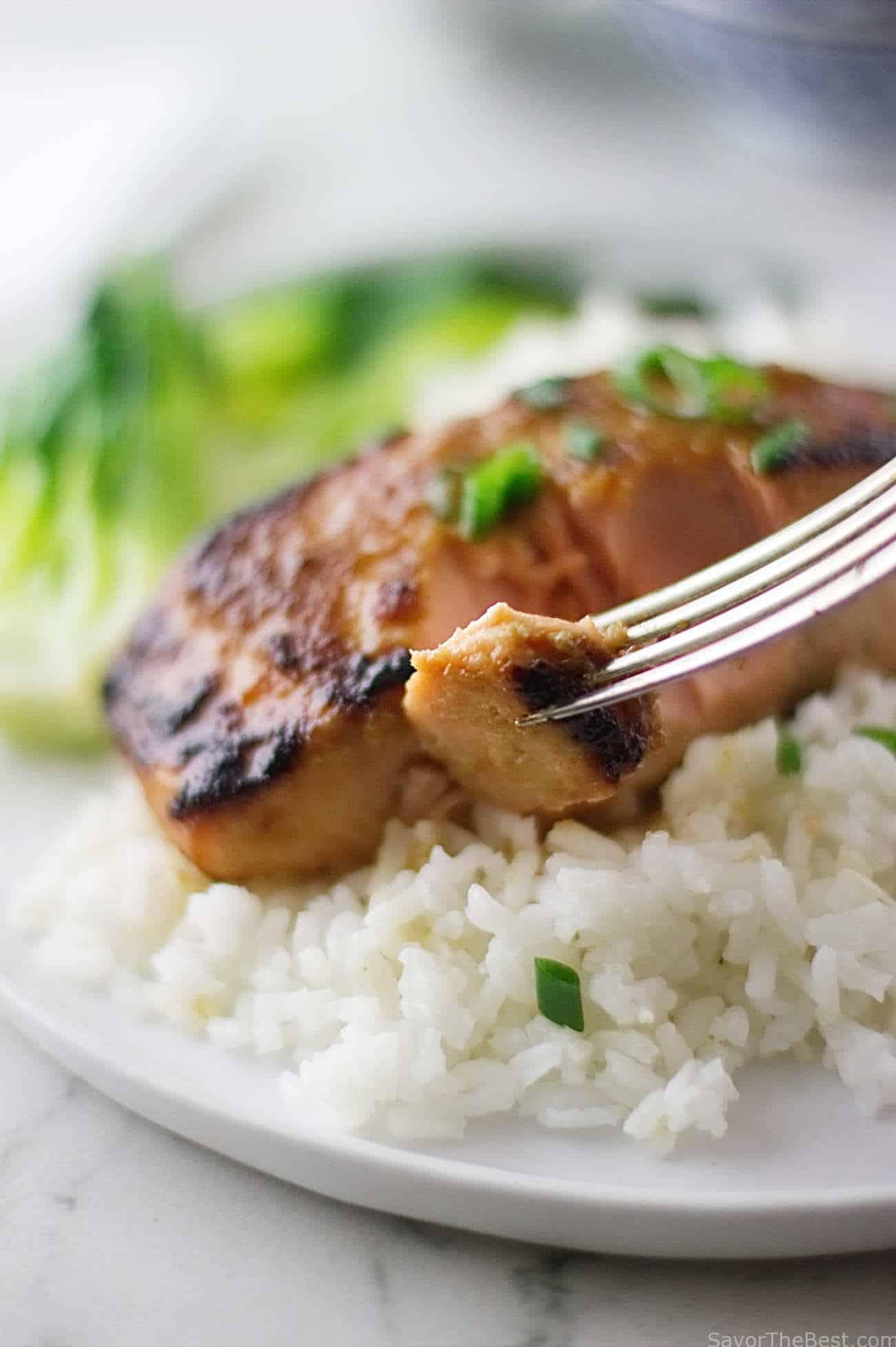 Ginger-Miso Glazed Salmon - Savor the Best