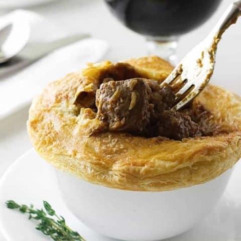 Irish Beef and Stout Pies
