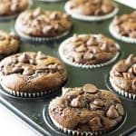 Einkorn Chocolate Banana Muffins