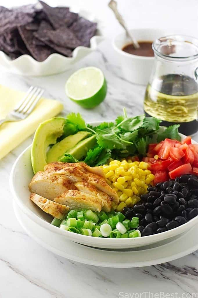 Southwestern Chicken Salad Bowl