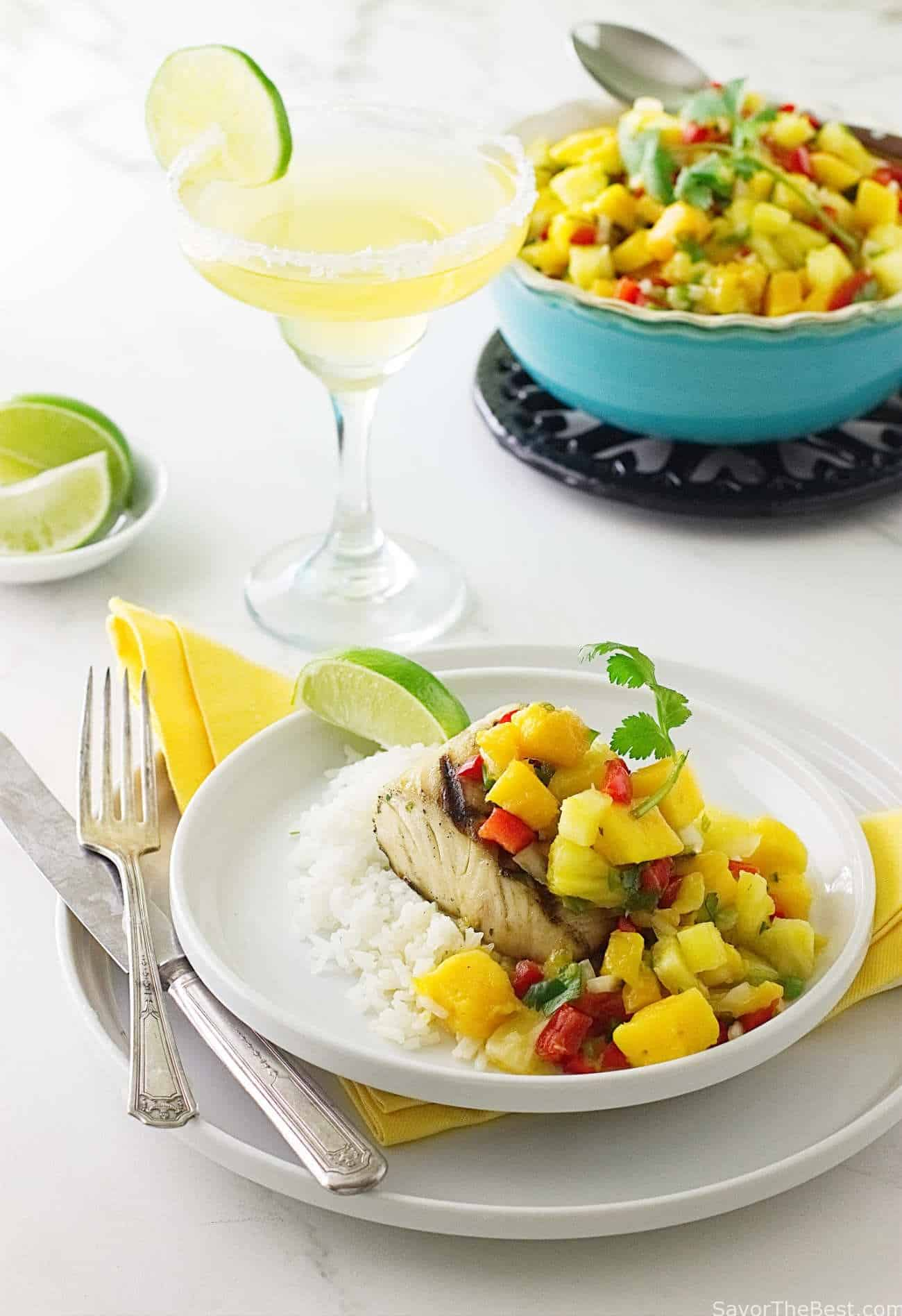Grilled Mahi-Mahi with Mango Salsa - Savor the Best