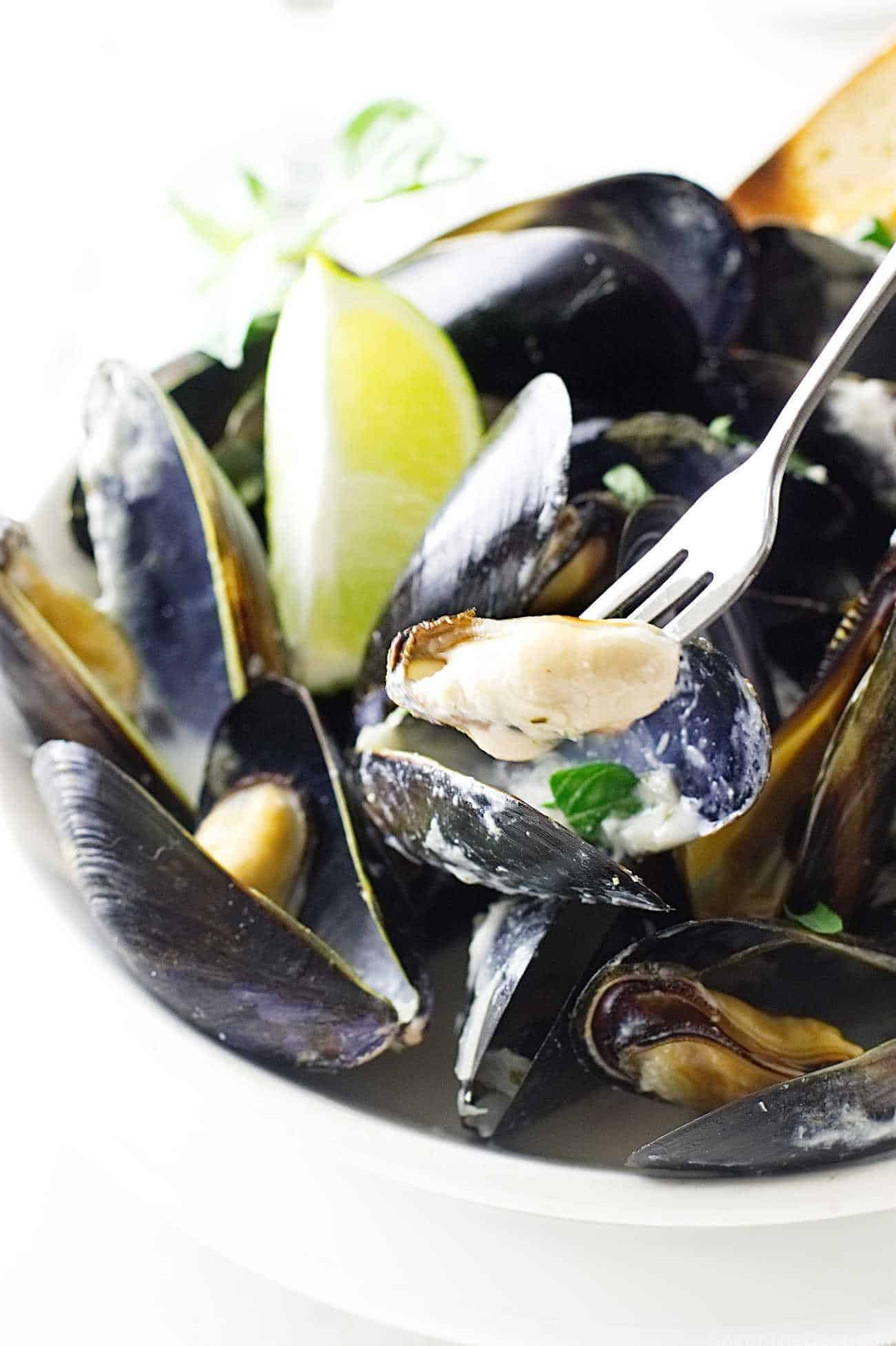 'fruits of the sea' and these Lemongrass-Coconut Steamed Mussels ...