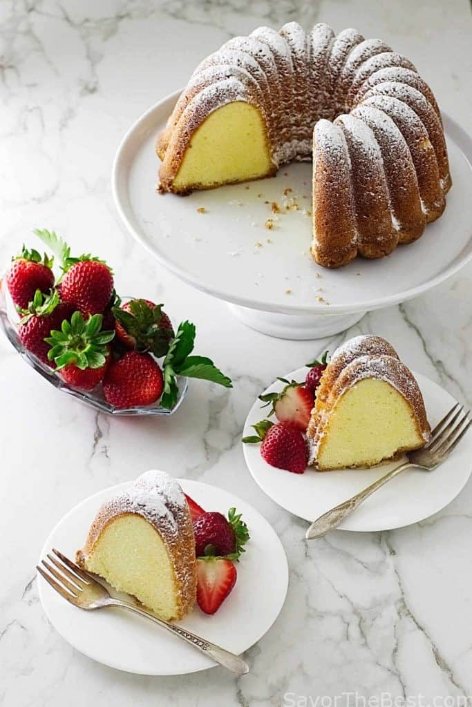 Old Fashioned Cream Cheese Pound Cake