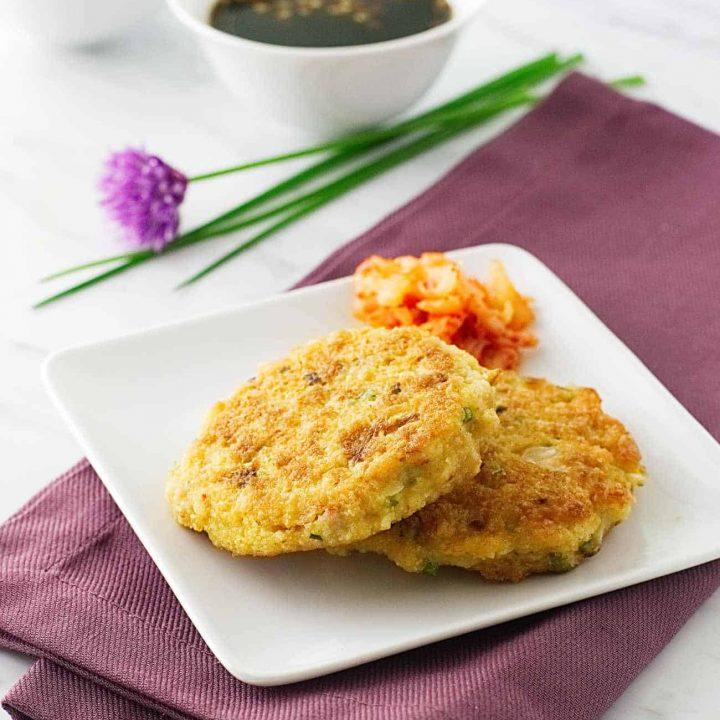 Kimchee-Pork Pancakes