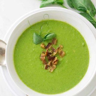 Fresh Pea Soup St. Germain