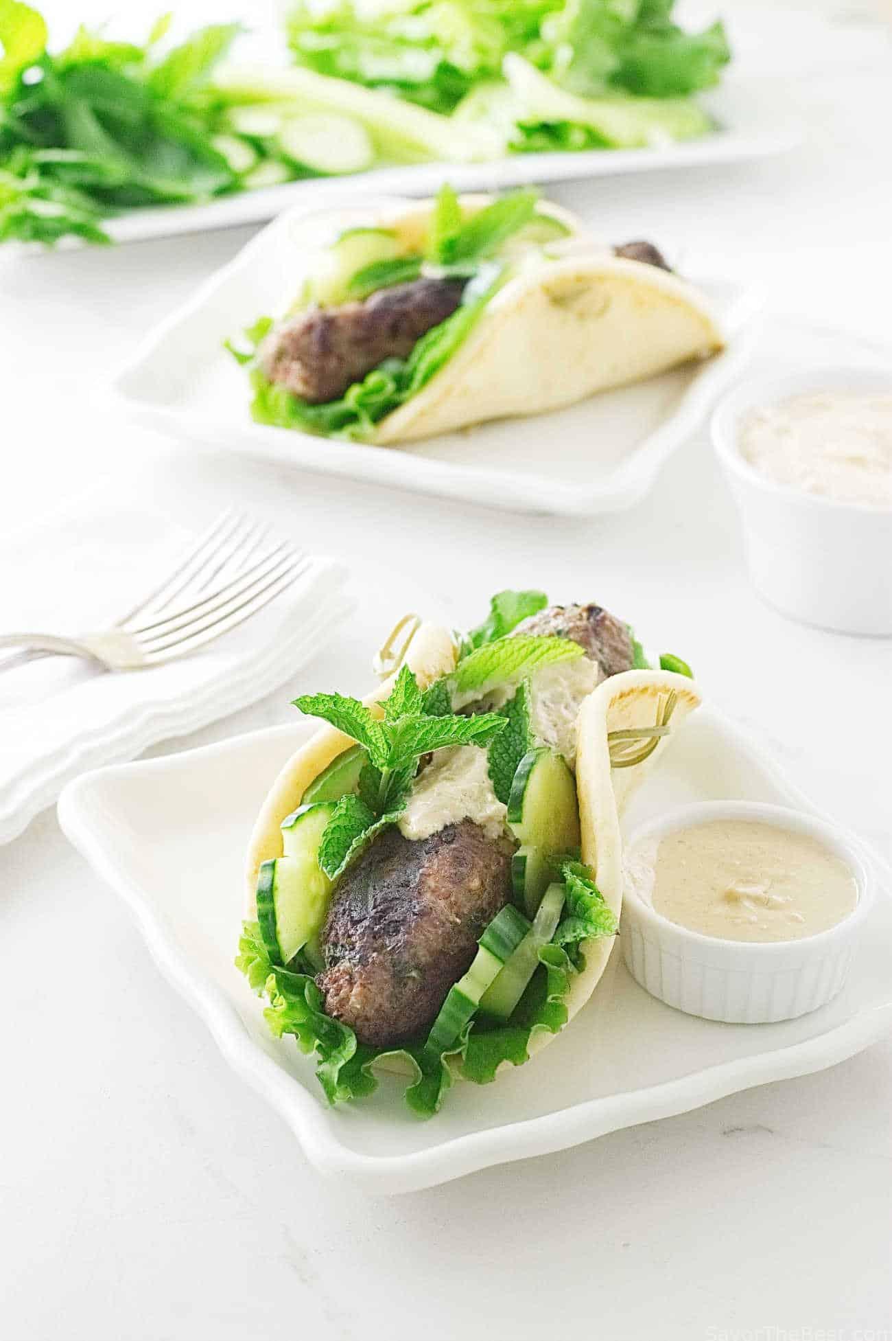 Grilled Lamb Kofta Kabab Sandwiches - Savor the Best
