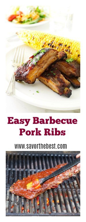Easy Barbecue Pork Ribs
