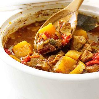 Pumpkin and Pork Stew