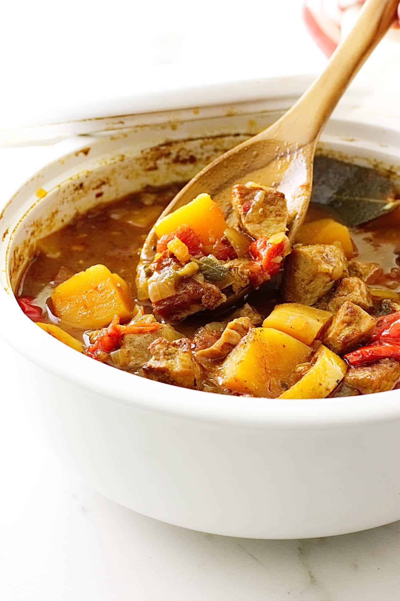 Pumpkin and Pork Stew