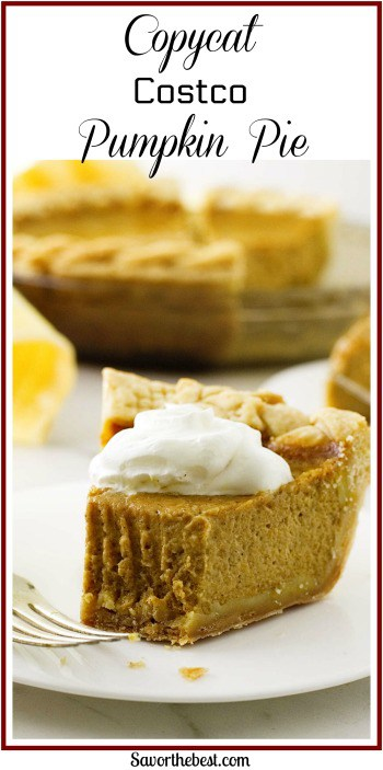 This re-creation of the famous Costco pumpkin pie is an ultra rich, smooth and creamy pumpkin pie. A perfect copycat of Costco's most famous pie