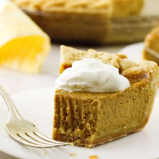 Copycat Costco Pumpkin Pie