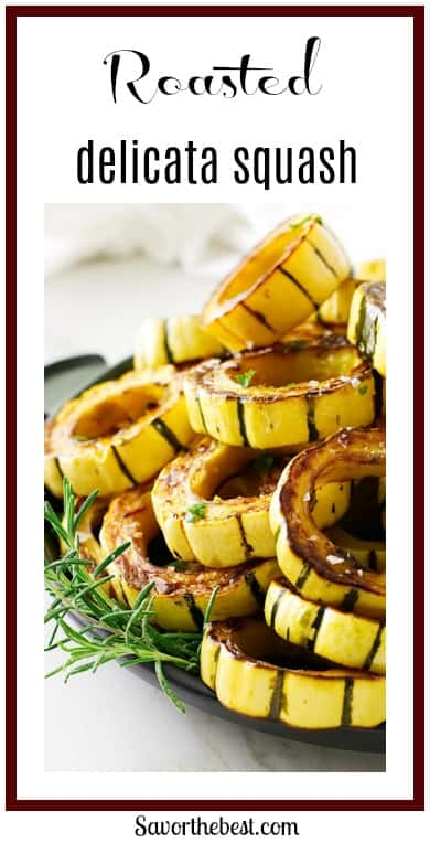 Roasted Delicata Squash