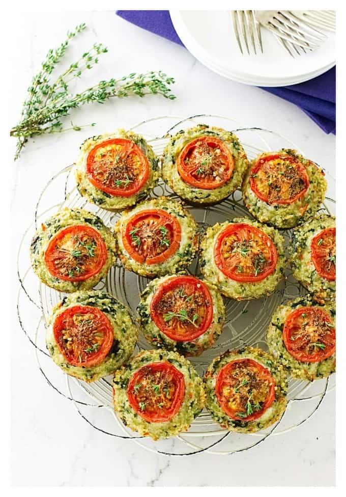 Veggie Quinoa Egg Breakfast Muffins