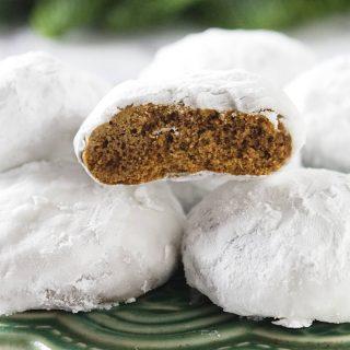 Pfeffernusse (German spice cookies)