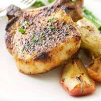 Chipotle Pork Chop Sheet Pan Dinner
