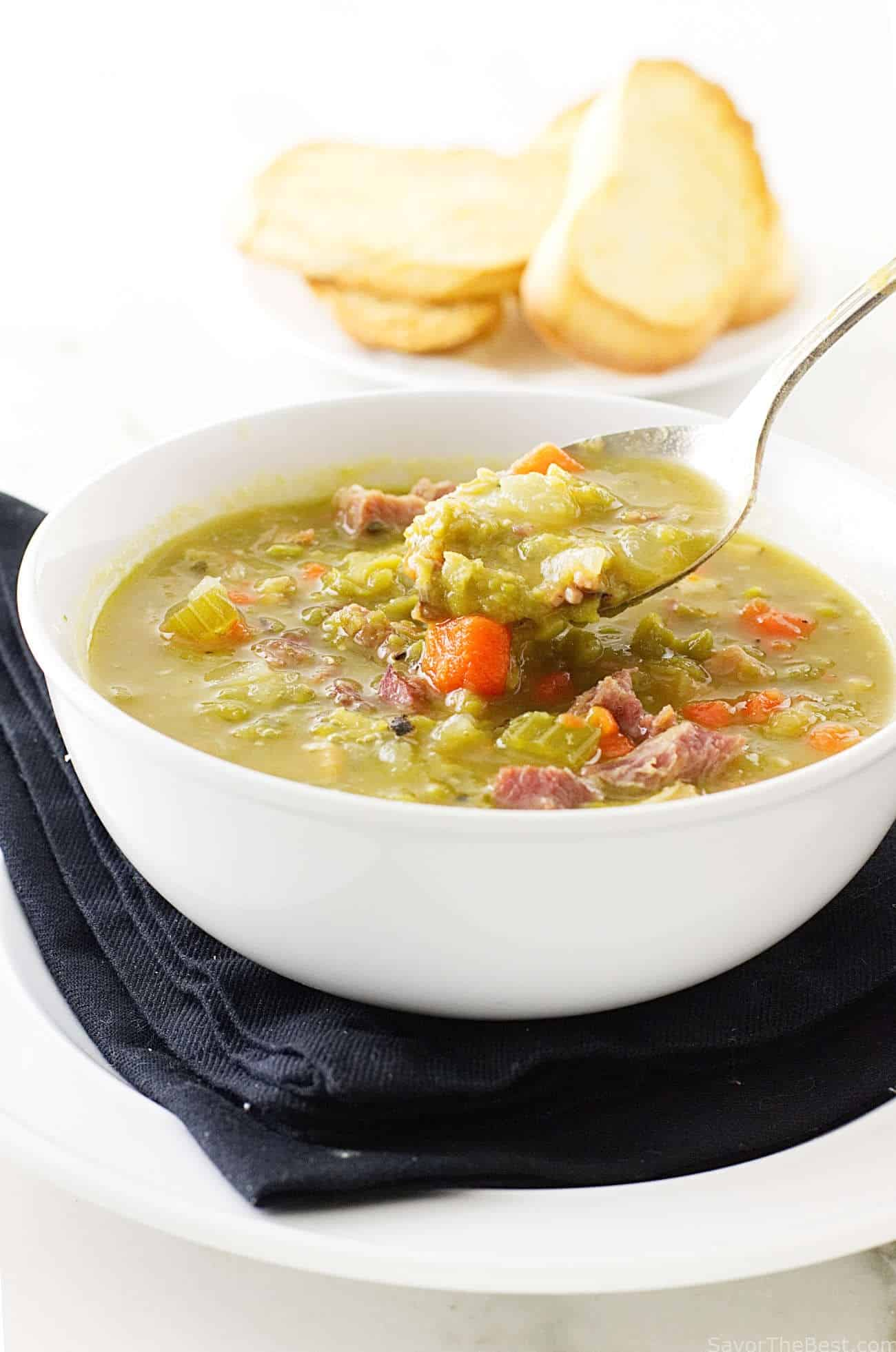 Split Pea and Ham Soup   Savor the Best