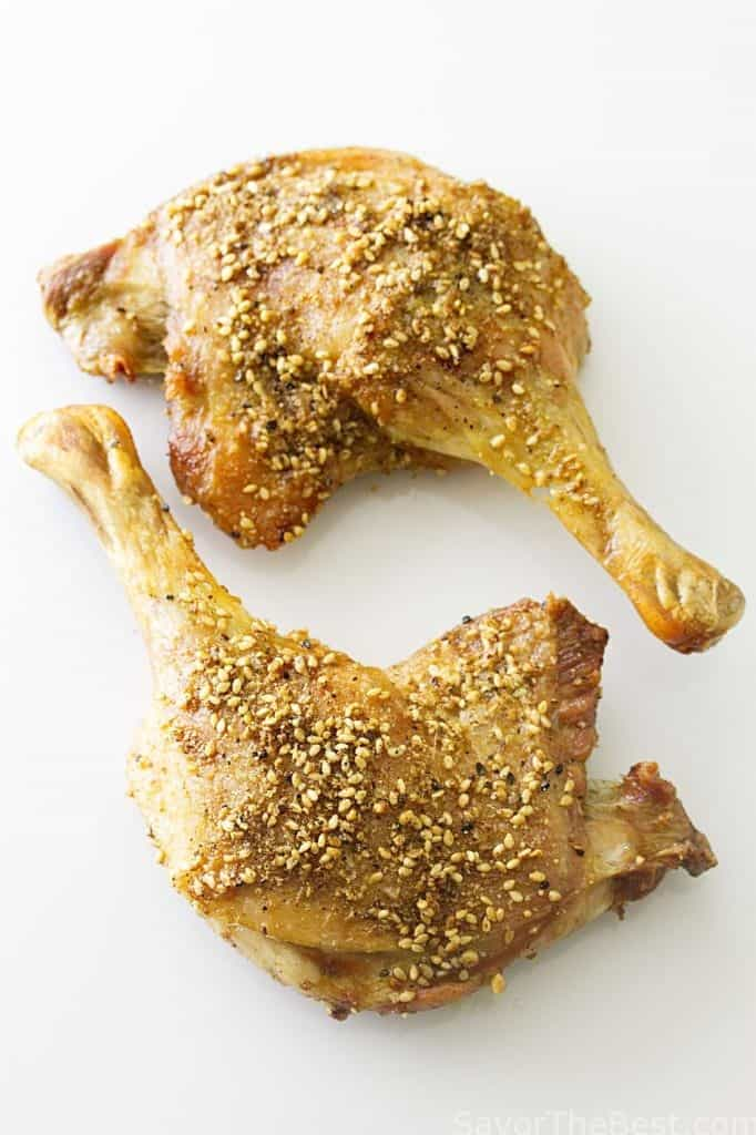 Dukkah Roasted Duck Legs