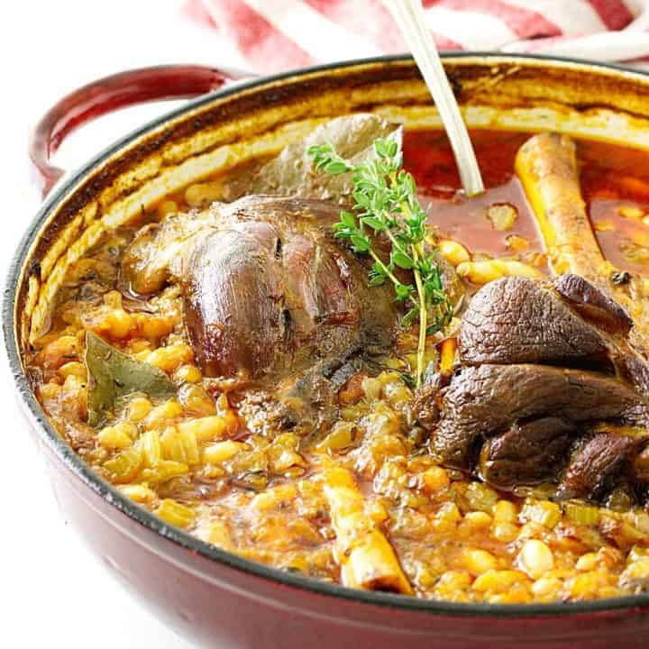 Lamb Shank Cassoulet