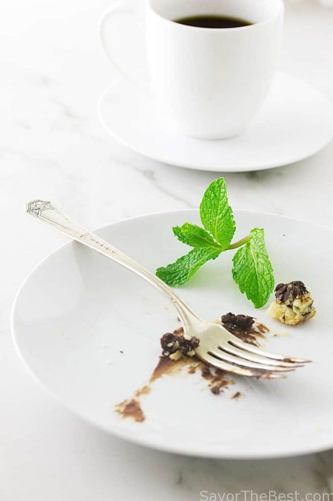Chocolate-Mint Tart