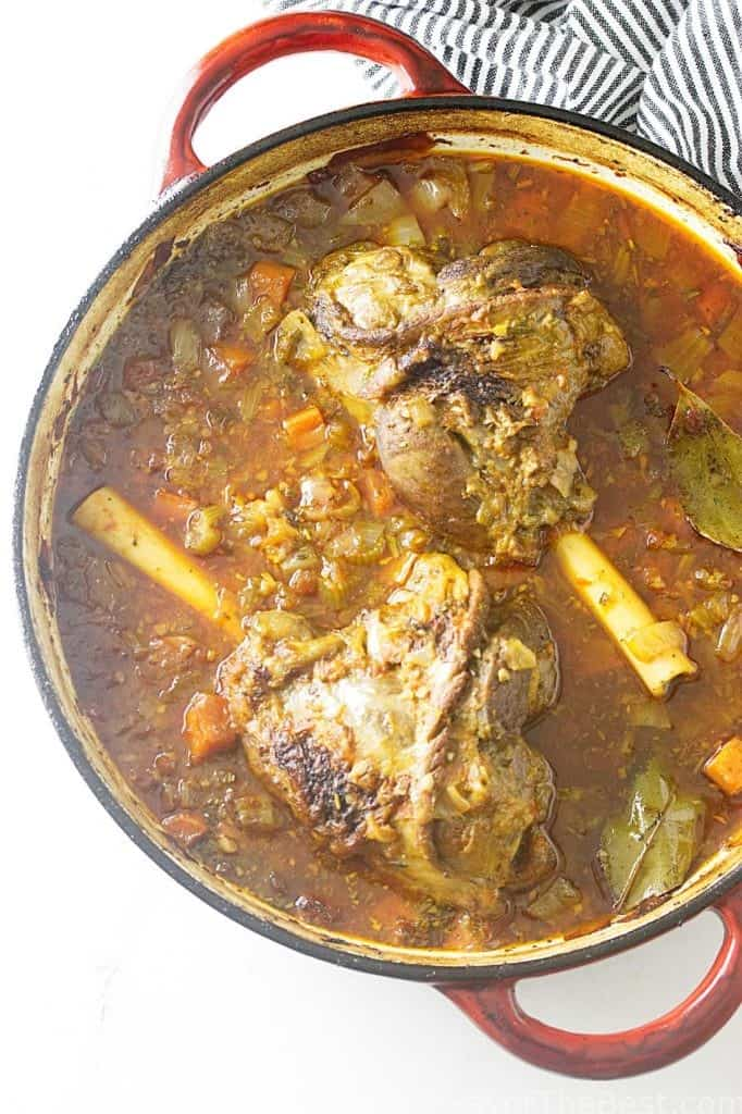 Lamb Shanks - Osso Buco Style