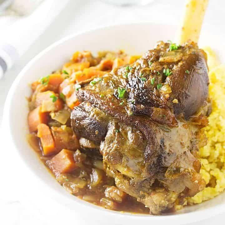 Lamb Shanks - Osso Buco Style