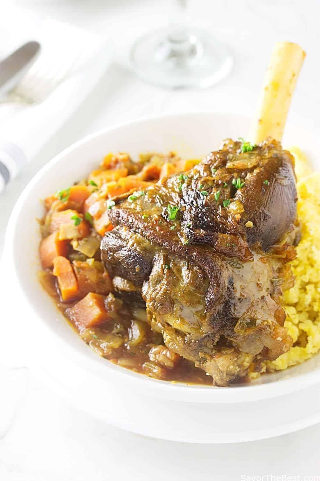 Food Network Lamb Shanks Recipe