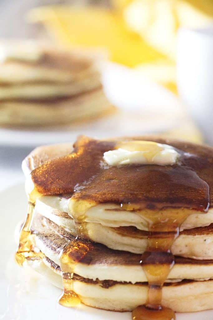 sourdough ricotta pancakes