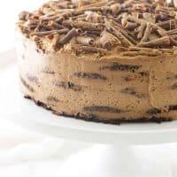 Mocha-Chocolate Icebox Cake